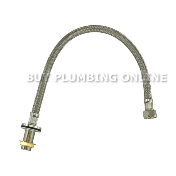 """Geberit Stainless Steel Connection Hose 3//8/"""" 261.358.00.1"""