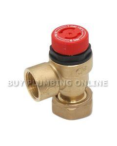 Altecnic Caleffi Pressure Relief Valve 1/2 6 Bar 311501