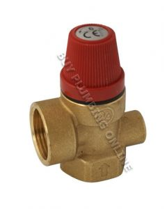 Altecnic Pressure Relief Valve 3/4 Female 6 Bar 311560