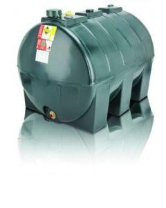 Atlas 1300L Single Skin Low Profile Oil Tank