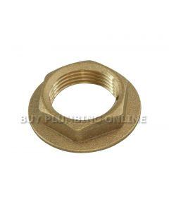 Brass Locknut 1/2 inch