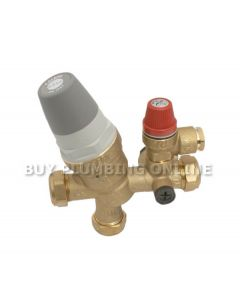 Caleffi 535 Cold Water Control Valve 2.2 Bar 535002CST