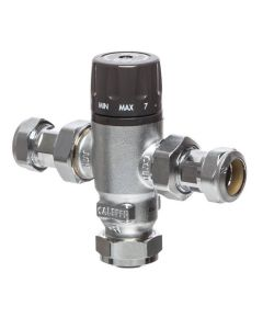 Caleffi Mixcal Thermostatic Mixing Valve 22mm 521122