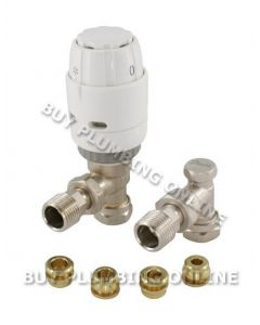 Danfoss RAS-C2 10mm Trv & Locksheld White/nickel 013G6006