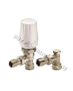 Danfoss RTW TRV & Lockshield Valve 15mm 013G710500