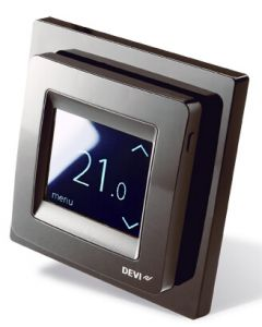 DEVIreg™ Touch Design Frame Room Thermostat Black 140F1069