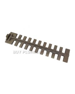 Dunsley Chrome Iron Upper Grate Bar 02012