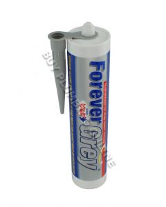 Everbuild Forever Grey Silicone Microban 295ml  FOREVERGREY