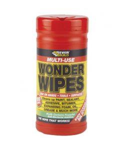 Everbuild Multi Use Wonder Wipes Tub (100)