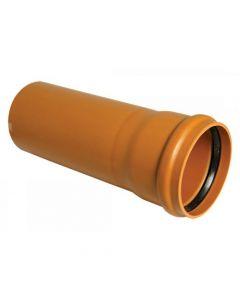Floplast 110mm Underground Pipe 3 Metre