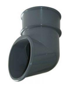 Floplast 68mm Down Pipe Shoe Grey