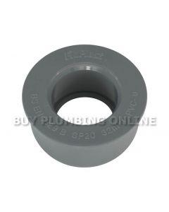Floplast Soil 32mm Solvent Boss Adaptor Grey SP20