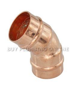Flowflex Solder Ring Obtuse Elbow 22mm