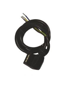 Grant VBS126B HE Black Pump Cable 800mm Long