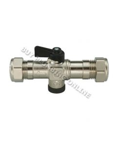 Grant Boiler Isolation Valve 15mm MPCBS76 Cold Water Inlet