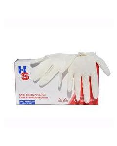 Hand Safe Latex Gloves Lightly Powdered (100 Large Approx)