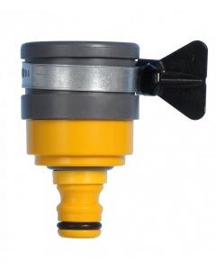 Hozelock Mixer Tap Connector For Round Mixer Taps 24mm - close up product image