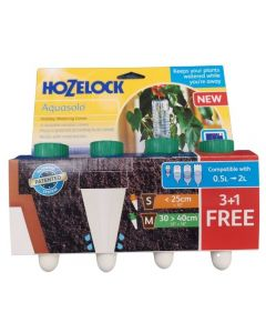 Special 4 pack of Hozelock Aquacones - image shows product in branded packaging