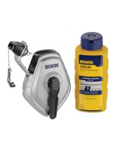 Irwin Strait Line Chalk Reel Set