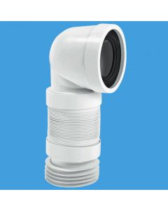 McAlpine 90deg Flexible WC Connector WC-CON8F