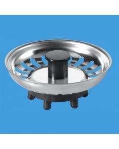 Mcalpine Basket Strainer Waste Plug BSKTOP