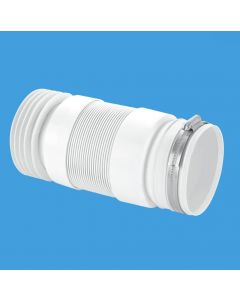 McAlpine Flexible Back To The Wall Pan Connector WC-F21R
