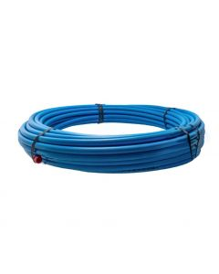 MDPE Pipe Blue 20mm  x 25m