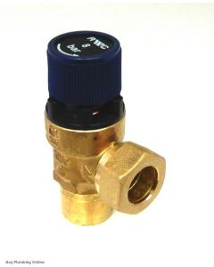 OSO Expansion Relief Valve Cartridge 8 bar 20 series, SolarCyl 510505