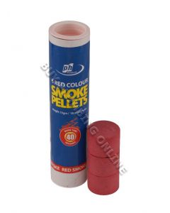 PH Smoke Pellets Colored 13gm Standard Red Pellets PH001C