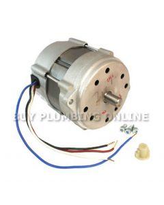 Riello 40 burner Motor 3007971 showing box contents screws & pump dog