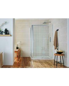 S6 1400mm Sliding Shower Screen
