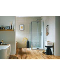 S6 900mm Bifold Shower Door