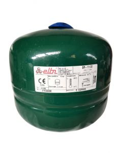 Elbi 11 Litre Potable Expansion Vessel - updated Green colour