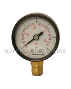 Warmflow Low Pressure Gauge 3019