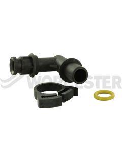 Worcester Bosch Gas Pipe Elbow 87161117070