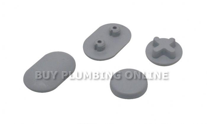 Ideal Standard Toilet : Ideal standard white toilet seat buffers ev23167