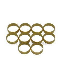15mm Brass Olives (Pack of 10)