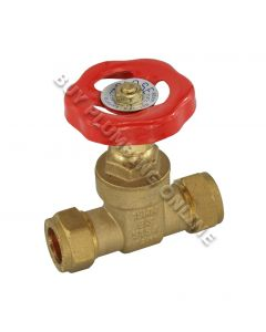 15mm Brass Gate Valve