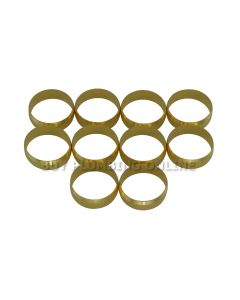 15mm Brass Olives (Pack of 10)