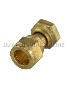 "15mm x 1/2"" Compression Tap Connector"