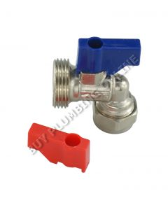 15mm x 3/4 Ang Washing Machine Valve