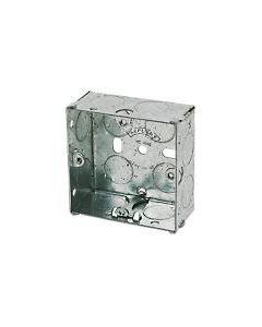 Metal Box 1 Gang 25mm