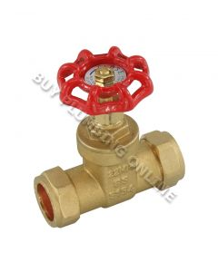 22mm Brass Gate Valve