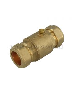 22mm Brass Single Check Valve