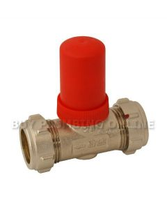 Altecnic Eres 22mm Automatic Bypass Valve Straight ER-22MMSTRBI