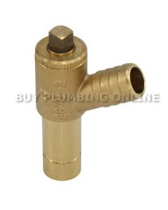 Altecnic Long Tail Drain Off Valve 15mm