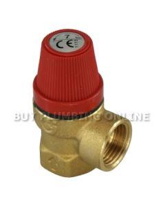 Altecnic Pressure Relief Valve 1/2 Female 7 Bar 311470
