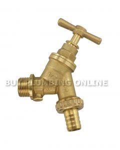 Brass Bibtap 1/2 Double Check