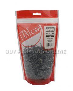 Timco Bright Annular Ringshank Nails 40 x 2.36 1kg BAR23640B