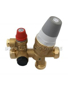 Caleffi 535 Cold Water Control Valve 2 Bar 535011CST